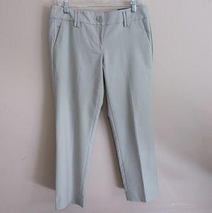 Ann Taylor LOFT Marissa Khaki Cropped Pants